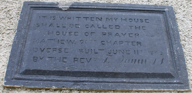 Commemorative Plaque, St. Joseph's Church, Kilnamona